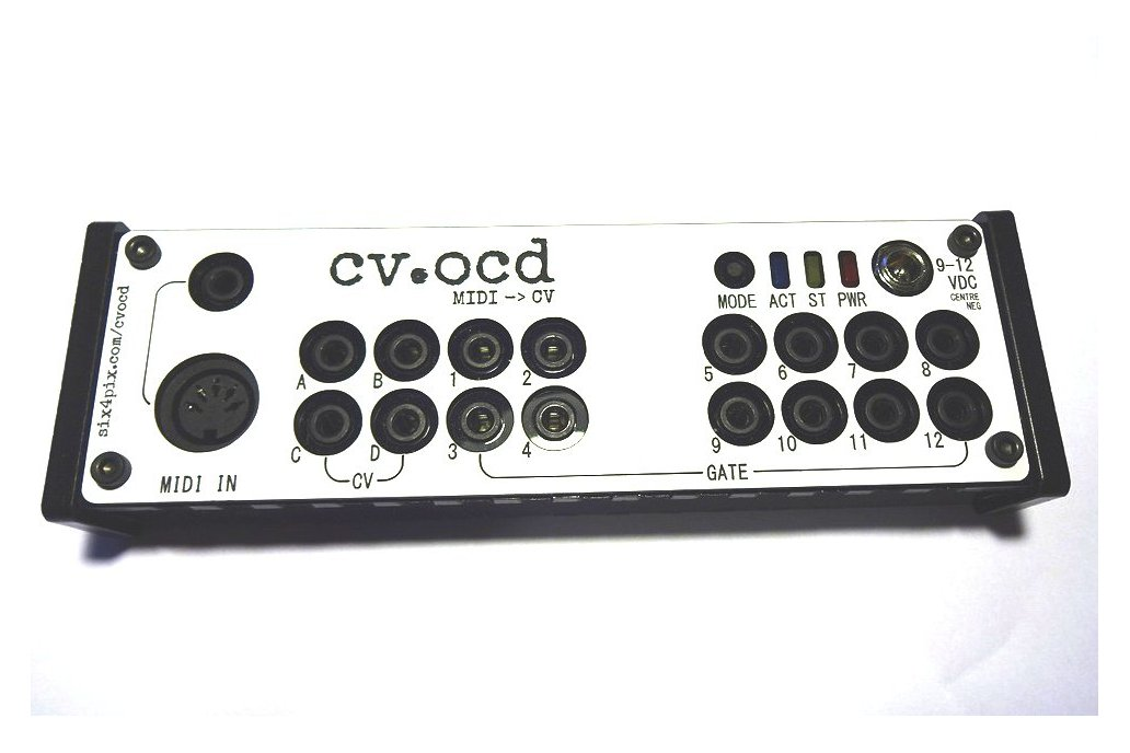 CV.OCD - A super flexible MIDI to CV box 1