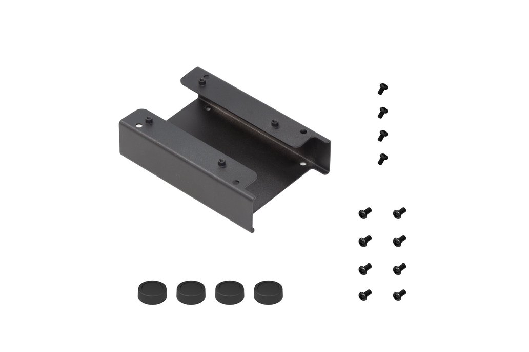 """NAS Metal Bracket Supports 2 Units of 2.5"""" SSD 1"""