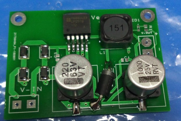 LM2576 Step Down Converter