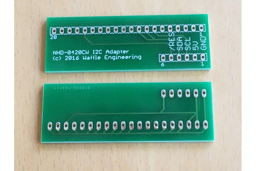 New Haven OLED display I2C / TWI  adapter board 1