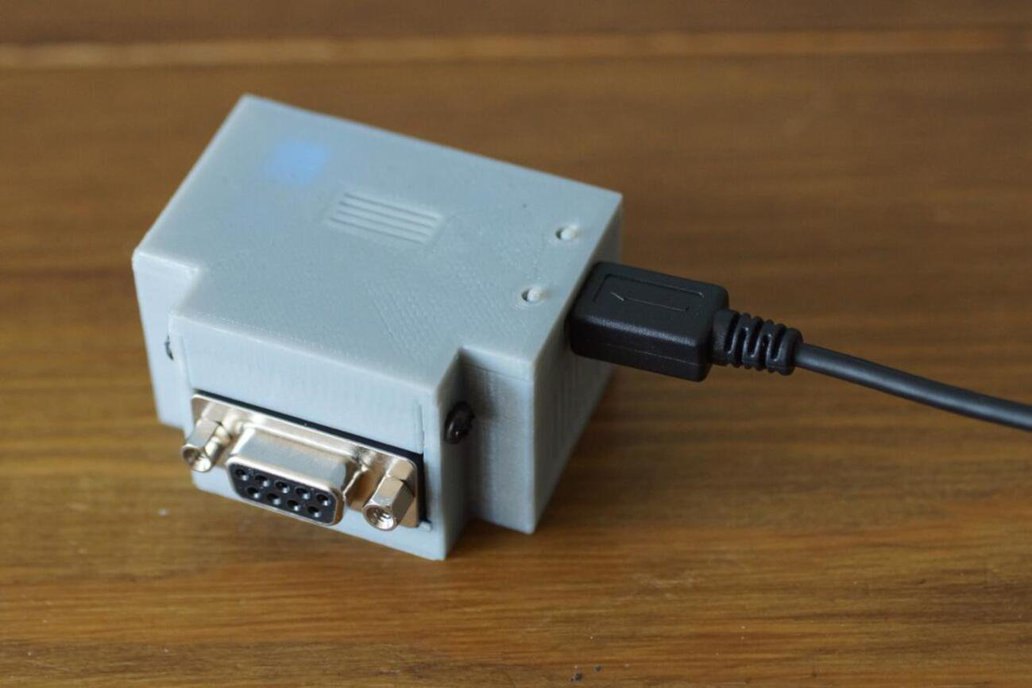 Retro Wifi SI - rs232 serial port internet modem 1