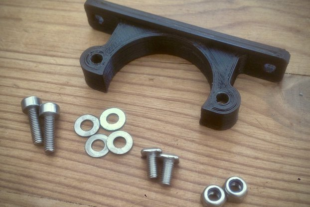 Mini Stepper Motor Bracket for Makerbeam 10mm
