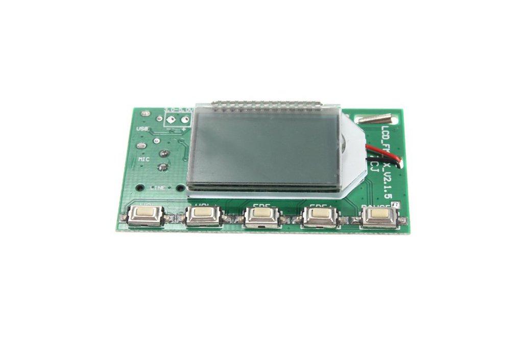 DSP PLL FM Transmitter Module - USB/Aux-In - 100mW 4