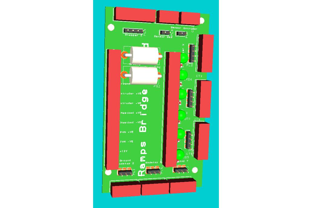 Ramps 3d Printer Controller Bridge Board 3