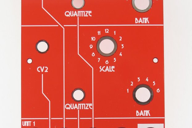 Analog Output Dual Quantizer (red /white)
