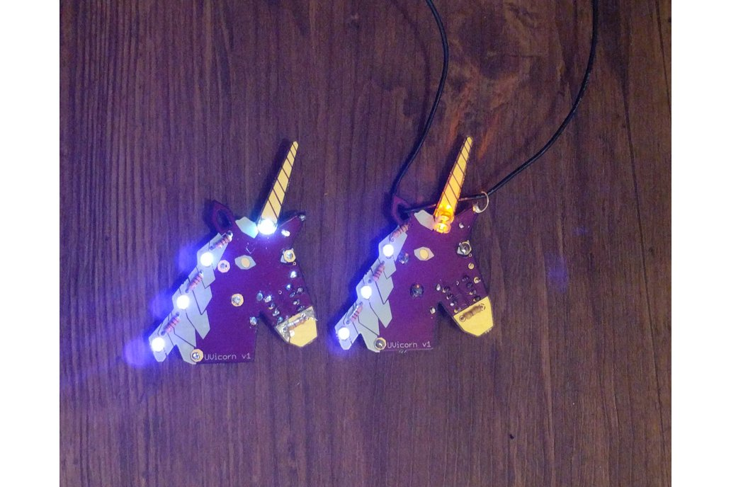 UVicorn Necklace - LED Unicorn 1