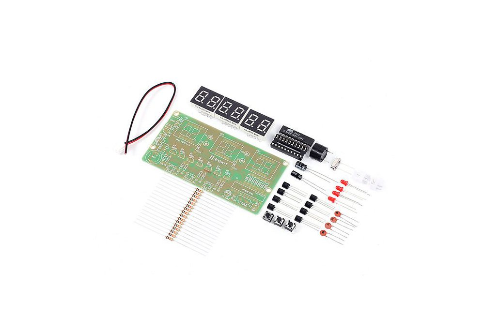 C51 Electronic Clock Suite DIY Kits(2042) 2