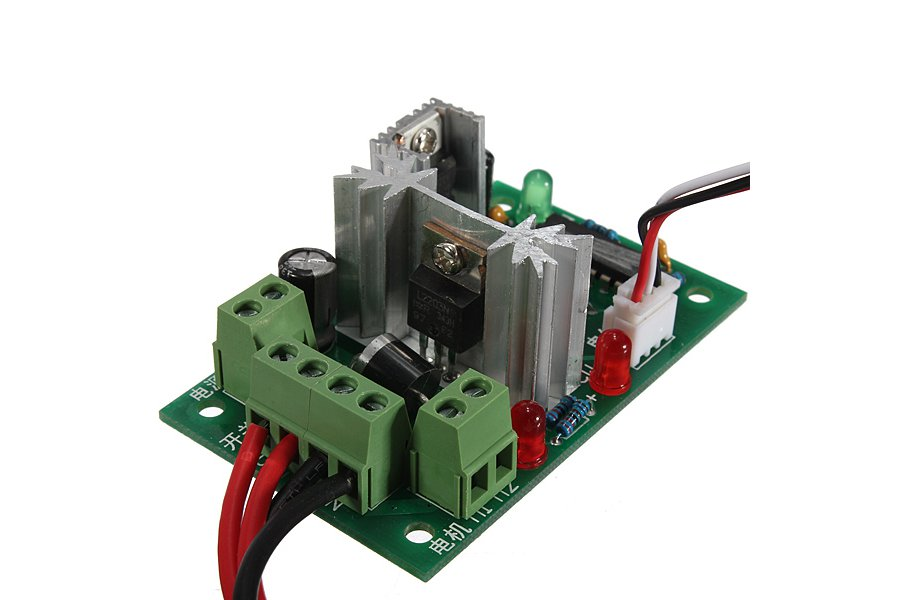 DC Motor Speed Switch Controller