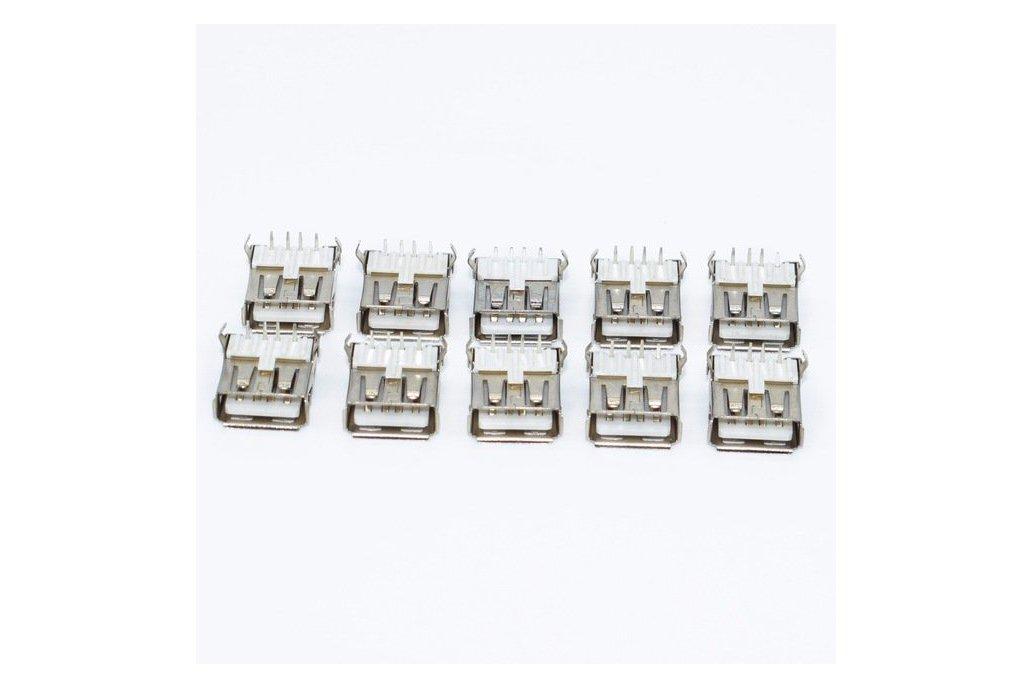 10Pcs USB Type A 1