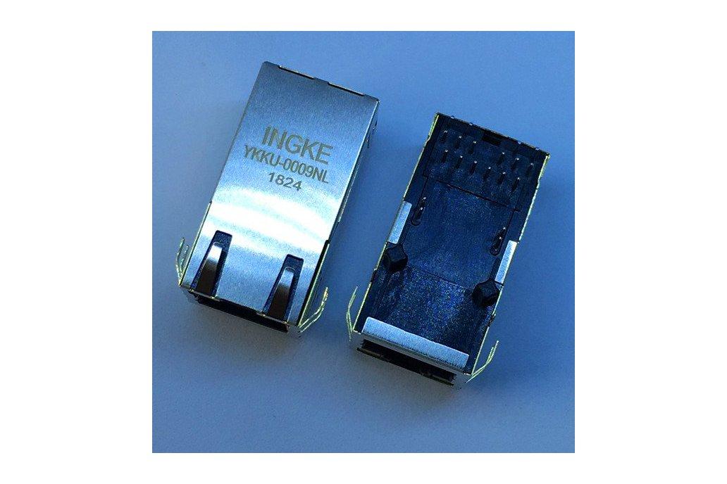 0857891006 Gigatit POE+ RJ45 Magnetic Jacks 1