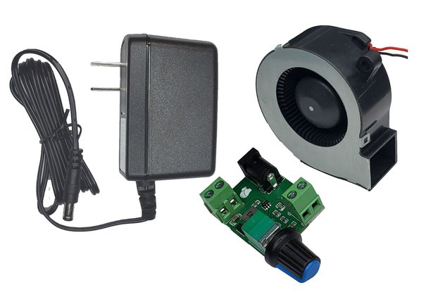 Controller board for 12V/300mA Cooling Fan Blower