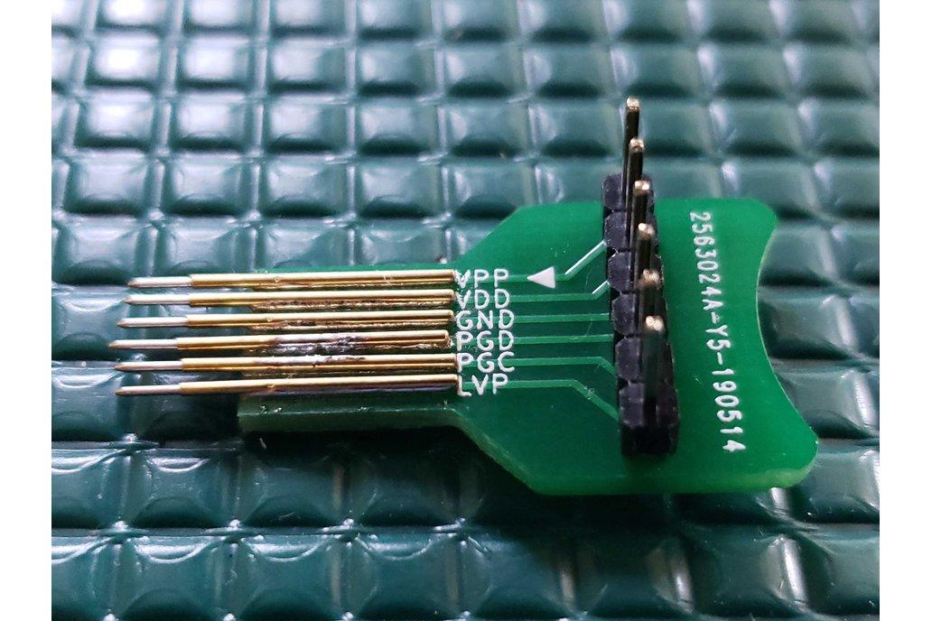 POGO Pin ICSP Adapter for Pickit3 / Pickit4 1