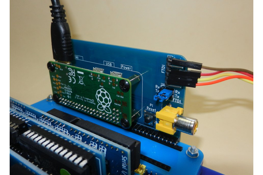 Raspberry Pi Zero Serial Terminal for RC2014 2