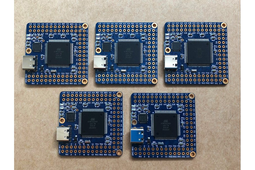 5-Pack Naked Mega 4 Arduino compatible board 1