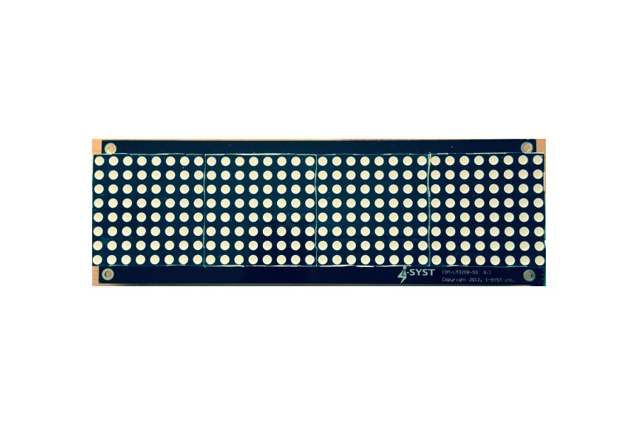 LED 32x8 matrix display board for Arduino, ARM