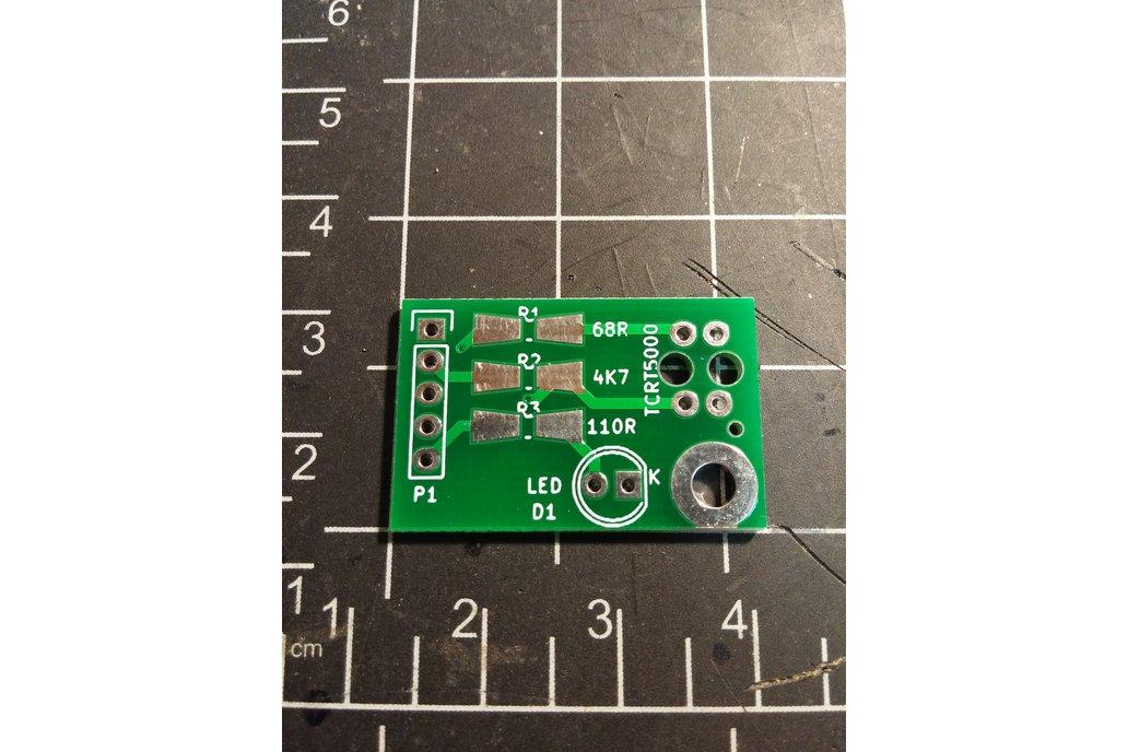 Sensor board for TCRT5000 (PCB only) 1