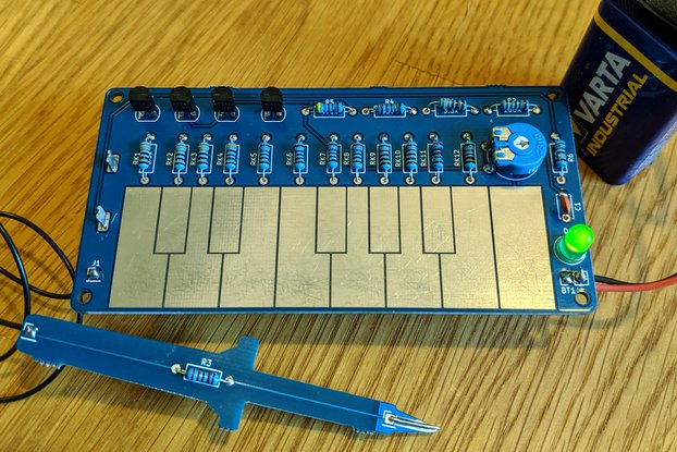 Sawtooth organ - Simple soldering kit for music