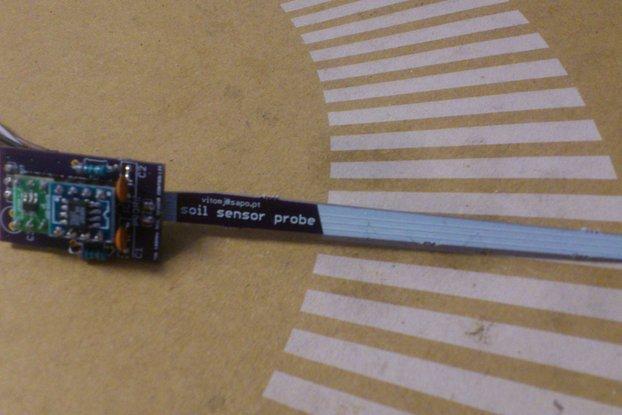 FDR 80MHz Plant Soil Sensor Mineral transparency