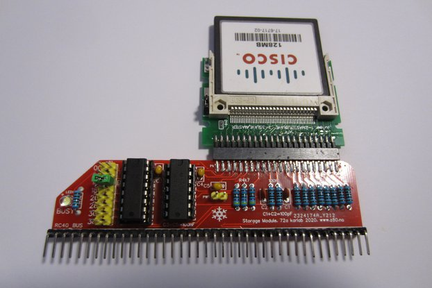 Storage Module using Compact Flash