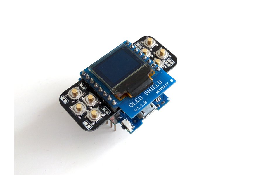 X-Pad 2.0 Buttons Shield for D1 Mini