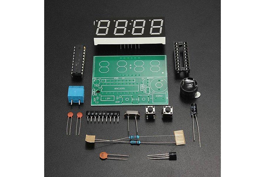 Electronic Clock DIY Kit