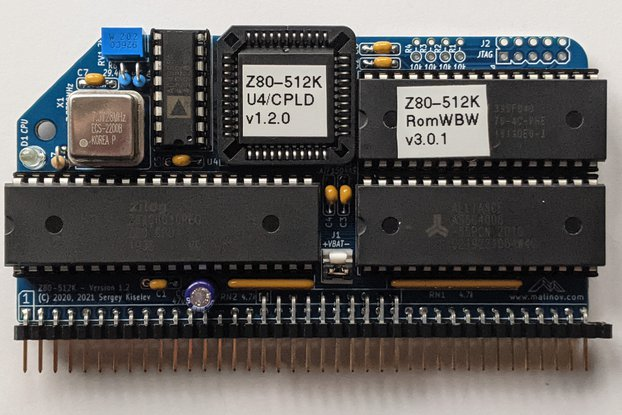 Z80-512K - RC2014-Compatible Module Kit
