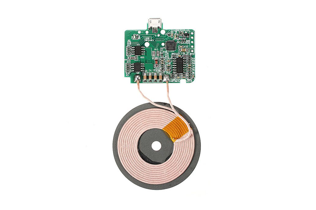 Wireless Coil Charger Circuit Board For Cell Phone 1
