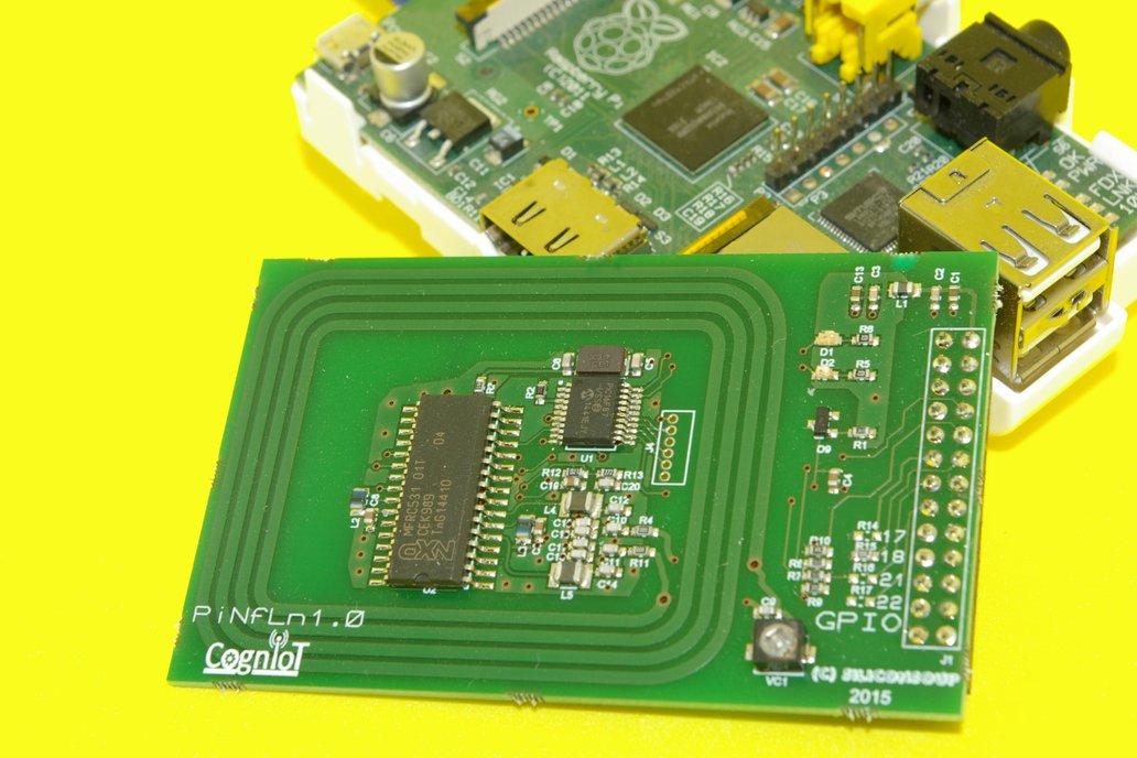 NFC Reader for Raspberry Pi 4