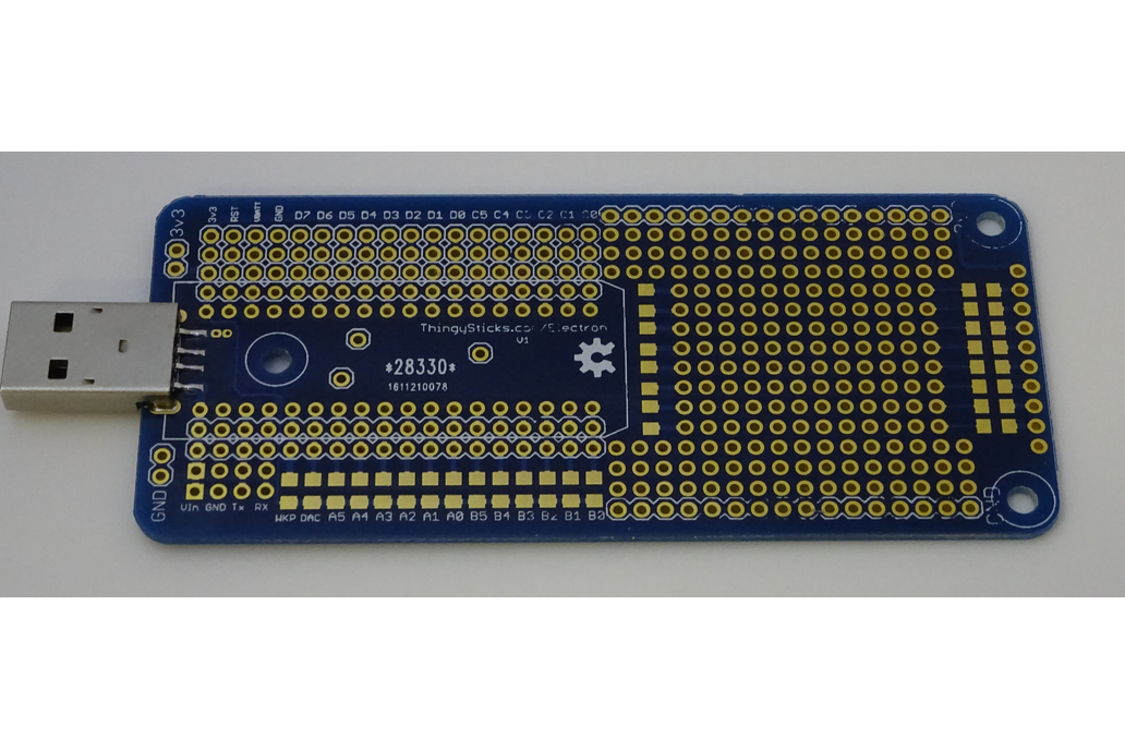 Prototype PCB for the Particle Electron. 2