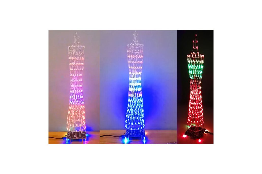 DIY Kit Colorful LED Tower Display(12320) 1