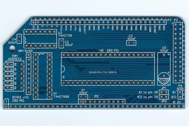 SC103 Z80 PIO Board for RC2014