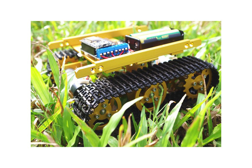Wireless WiFi T100 Metal Tank Car Chassis T100 1