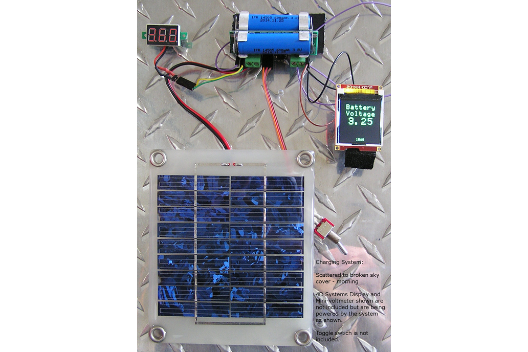 Solar Powered, Battery Back-Up Switching Regulator 1