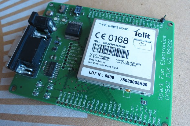 Telit GM862-QUAD GSMGPRS rs232 uart IP TCP HTTP AT