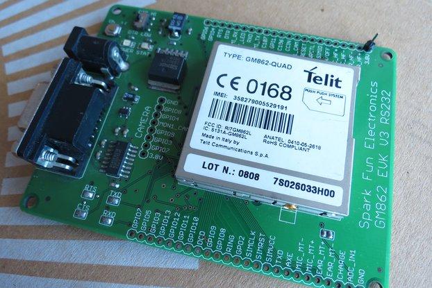 Telit GM862-QUAD GSMGPRS rs232 uart IP TCP HTTP AT
