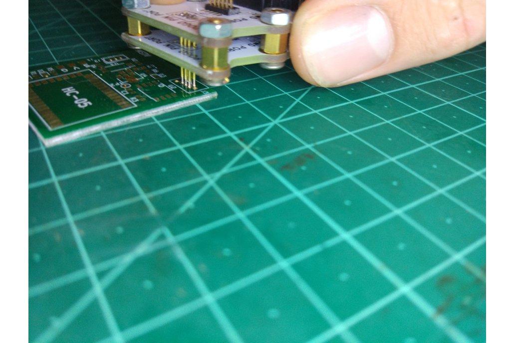 Pogo pin programmer(1.27mm 2X3P) 7
