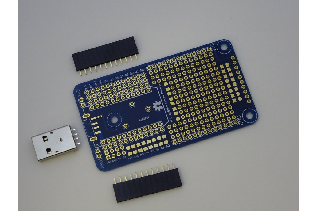 Prototype PCB for Particle Photon 1