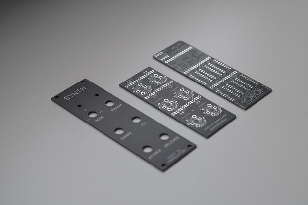 SYNTH (panel and pcb)