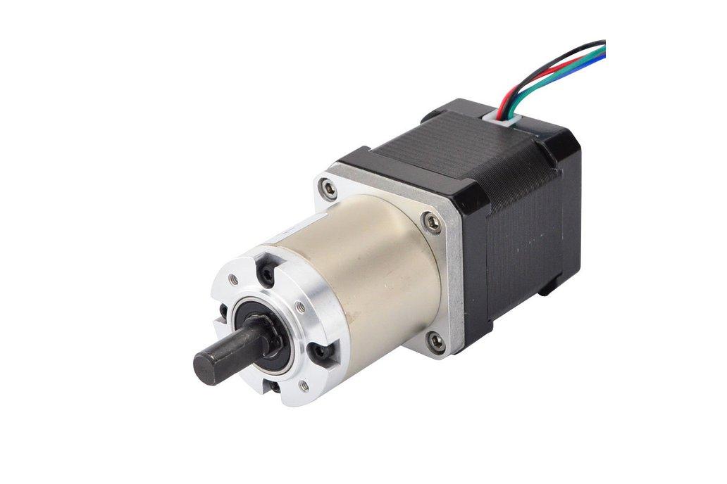 Nema 17 Stepper Motor 48mm Length w/ 100:1 Gearbox 1
