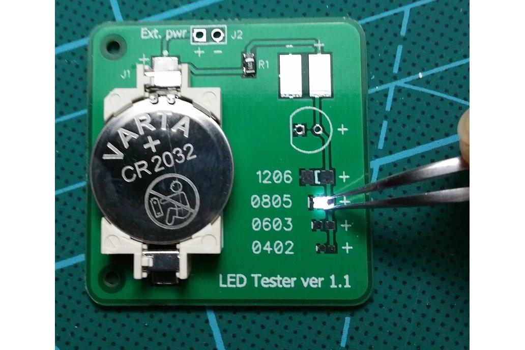 LED tester 14