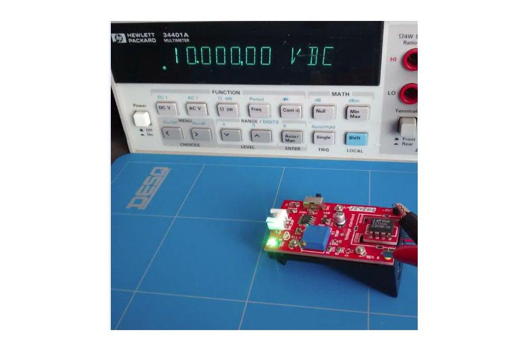 Voltage standard reference calibration 2