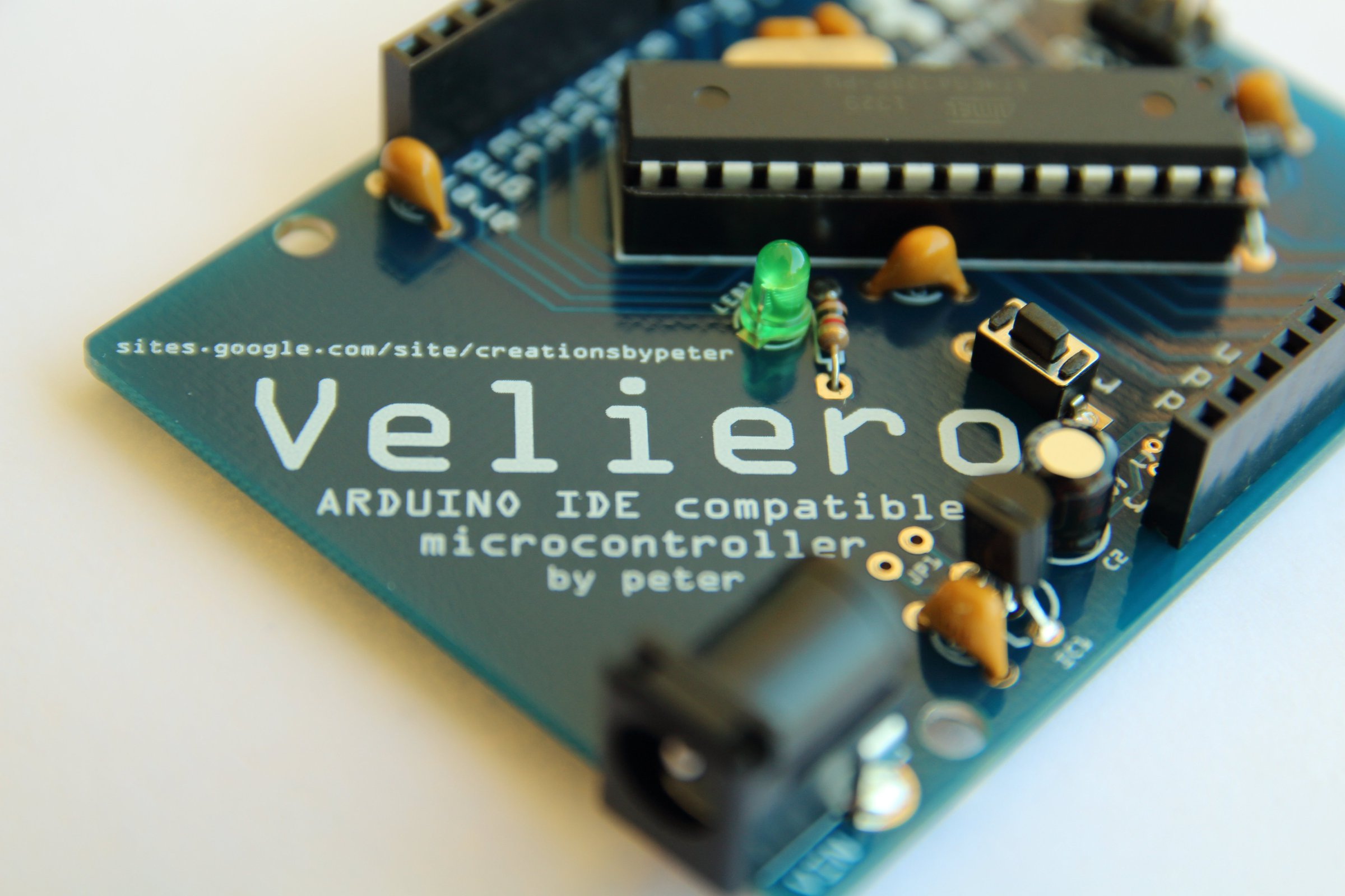 Veliero Open Arduino Compatible Microcontroller From Isp In System Programming And Standalone Circuits 1