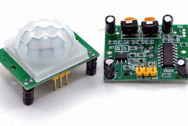 Passive Infrared Motion Sensor (HC-SR501)