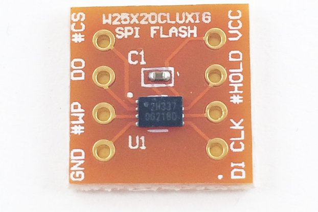 SPI Serial Flash Memory (2Mbits) Breakout Module