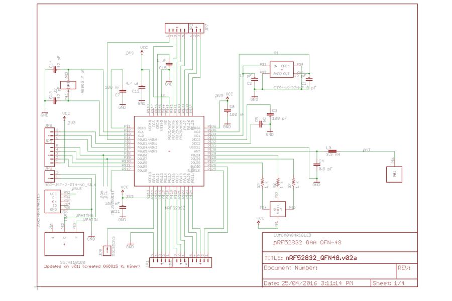 nRF52832 Development Board