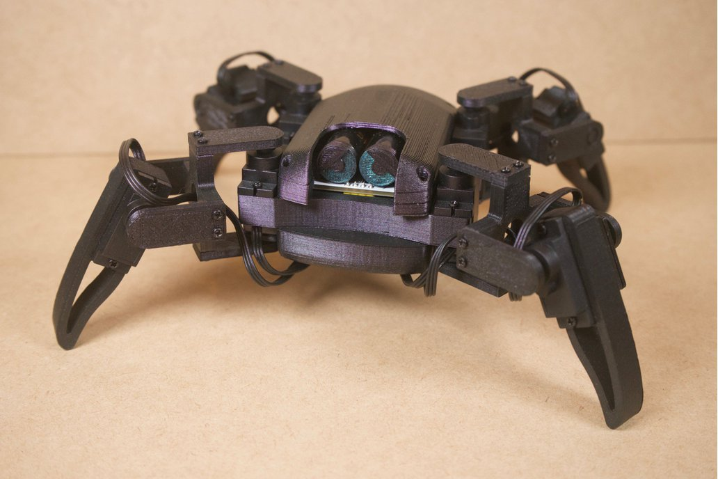 DIY Parts for Q1 mini quadruped robot 1