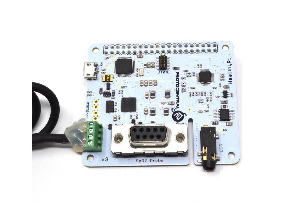 HealthyPi v3 HAT Kit for Raspberry Pi (HAT Kit) 4