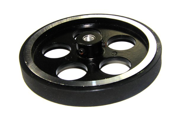 Metal Tire Aluminum Alloy Wheel with Rubber