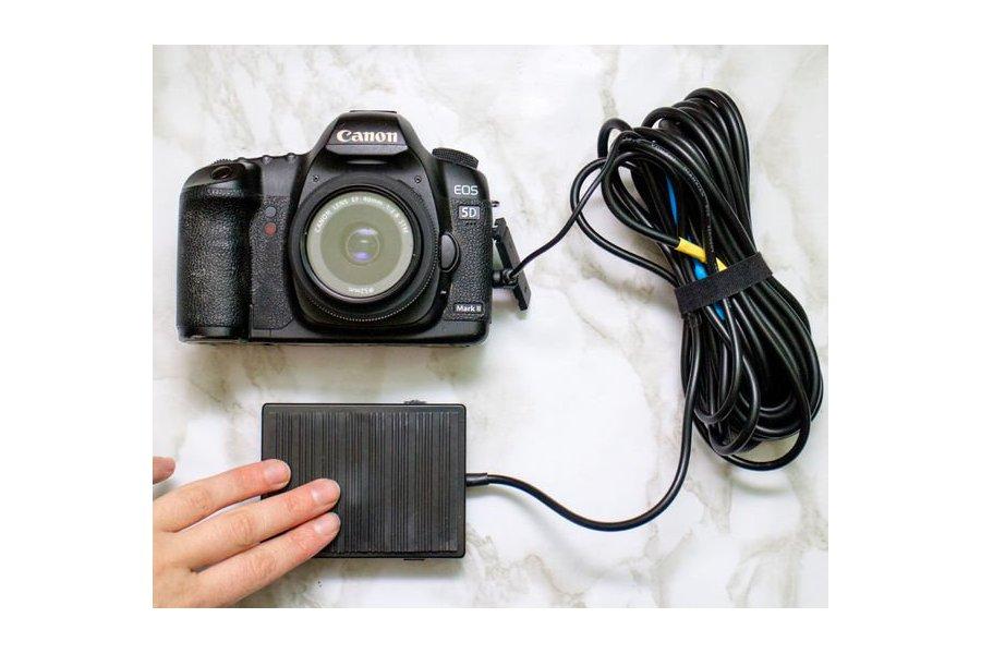 Foot-pedal DSLR Camera Remote
