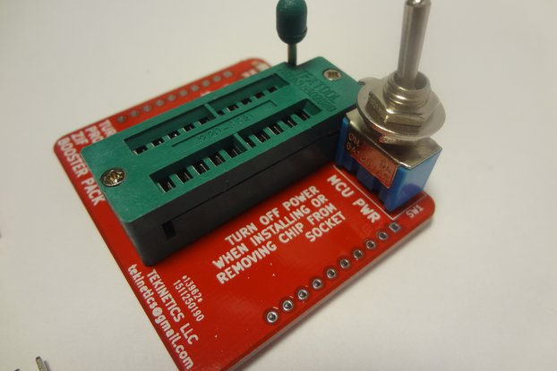Turbo ZIF Programmer Boosterpack for TI Launchpad
